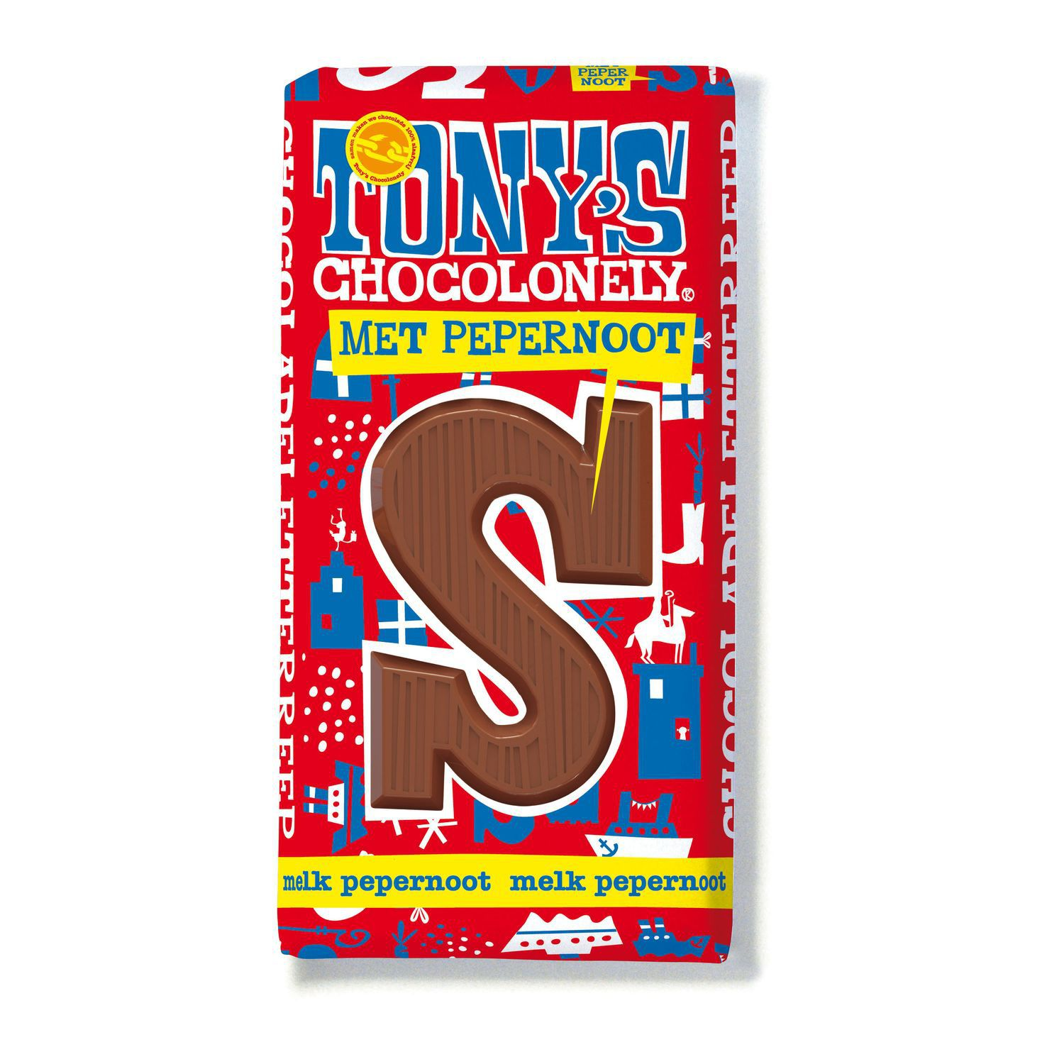 Tony Chocolonely | Pepernoot letters